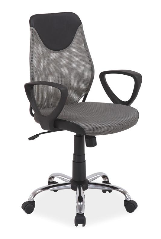 Kancelárska stolička Q-146 šedá