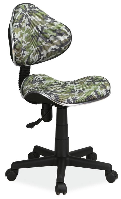 Kancelárska stolička Q-G2 maskáčový vzor