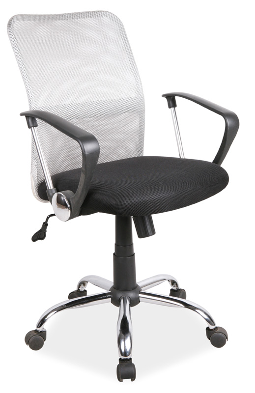 Kancelárska stolička Q-078 šedá