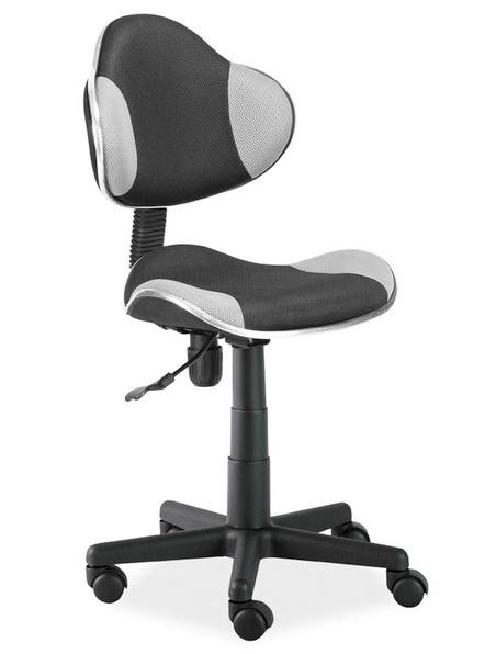 Kancelárska stolička Q-G2 černá/šedá