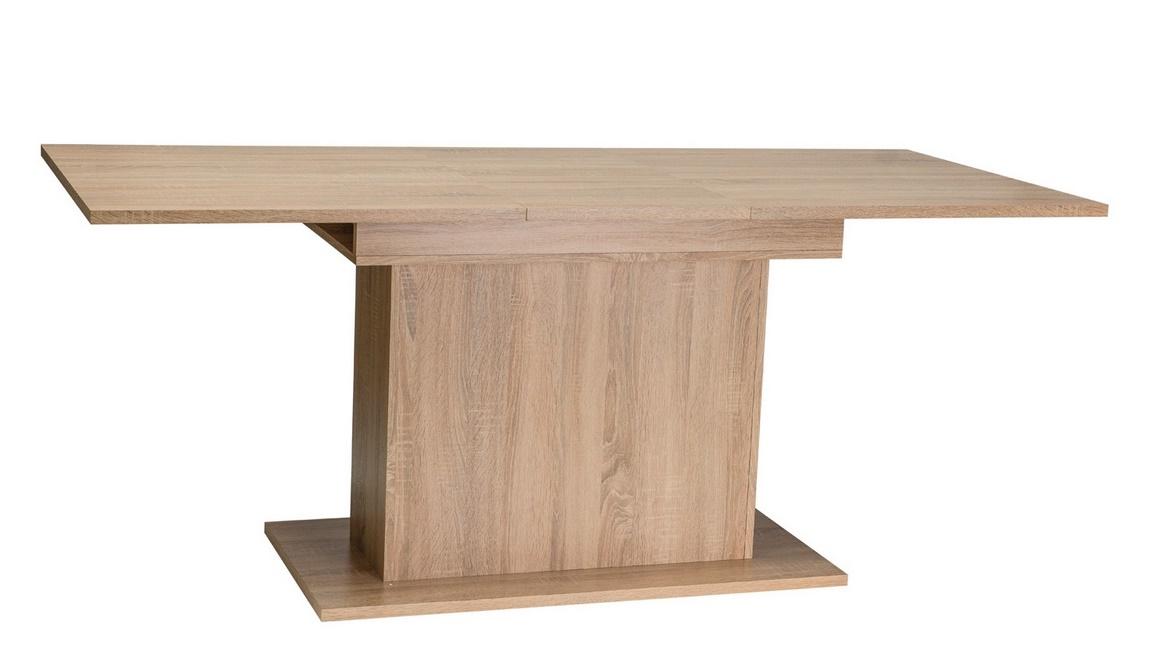 Jedálenský stôl rozkládací RENO II 140-180x80 dub sonoma
