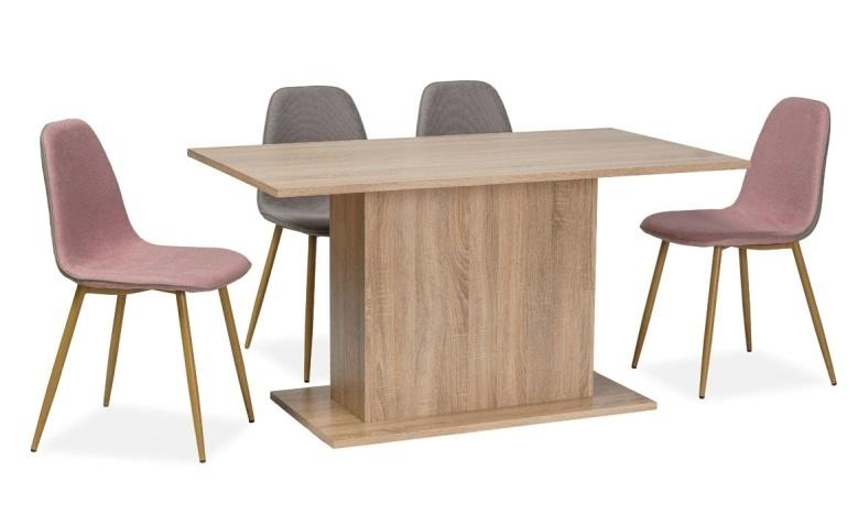 Jedálenský stôl RENO I 140x80 dub sonoma