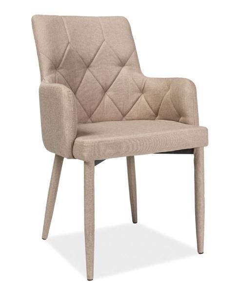 Jedálenská čalúnená stolička RICARDO béžová