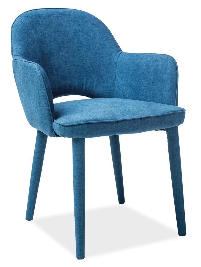 Jedálenská čalúnená stolička ROBIN granátová