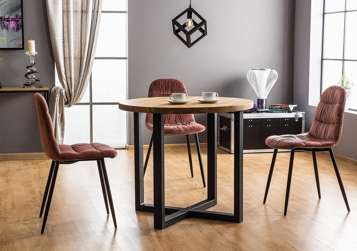 Jedálenský stôl ROLF dub masiv