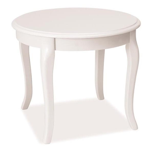 Konferenčný stolík ROYAL D biely - NA SKLADE!