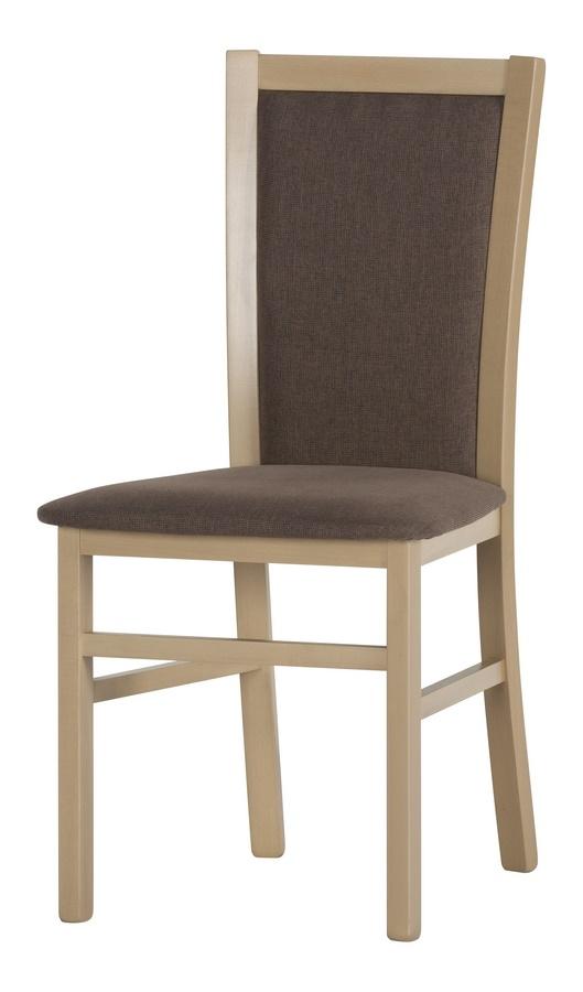 Jídelní čalouněná židle SATURN 101 sonoma
