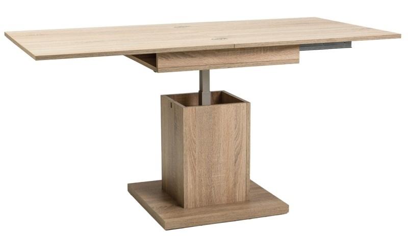 Jedálenský/konferenčný stôl SCALA rozkládací - sonoma