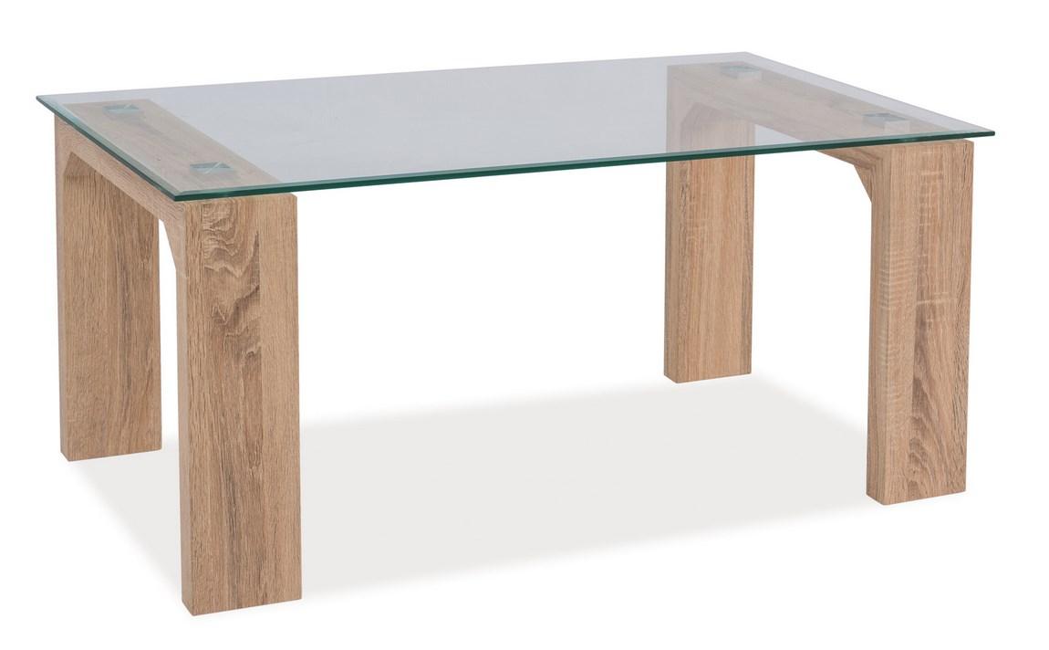 Konferenční stolek SCARLET dub sonoma