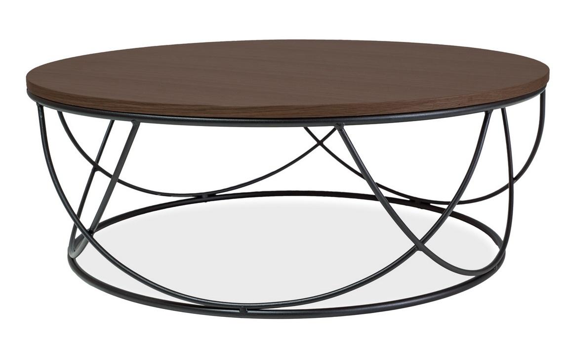 Konferenční stolek SEPIA I ořech/černá