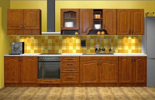 Kuchyně SIMONA 260 olše