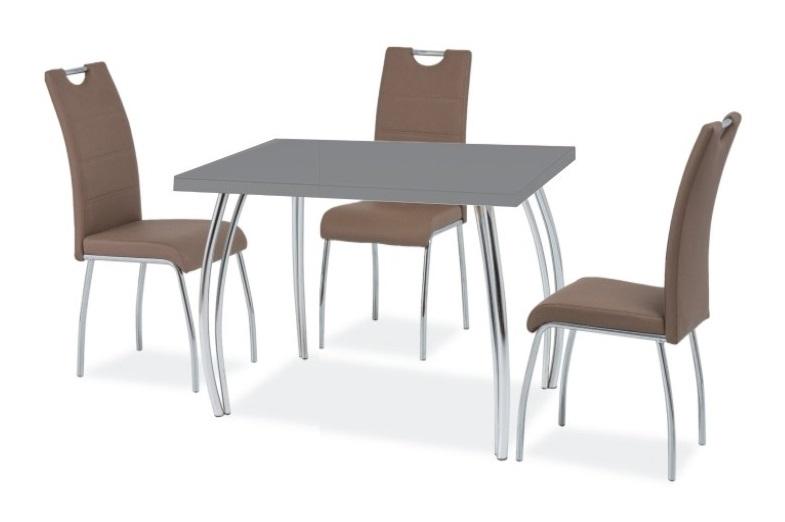 Jedálenský stôl SK-2 102x64 šedý