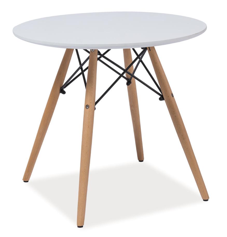 Jedálenský stôl guľatý SOHO 90
