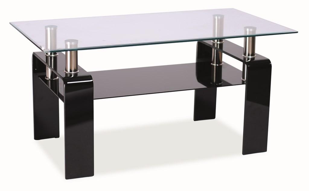 Konferenční stolek STELLA - černý