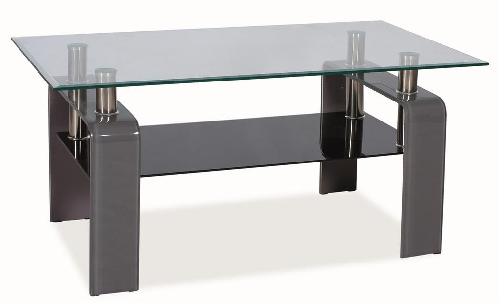 Konferenčný stolík STELLA - šedý