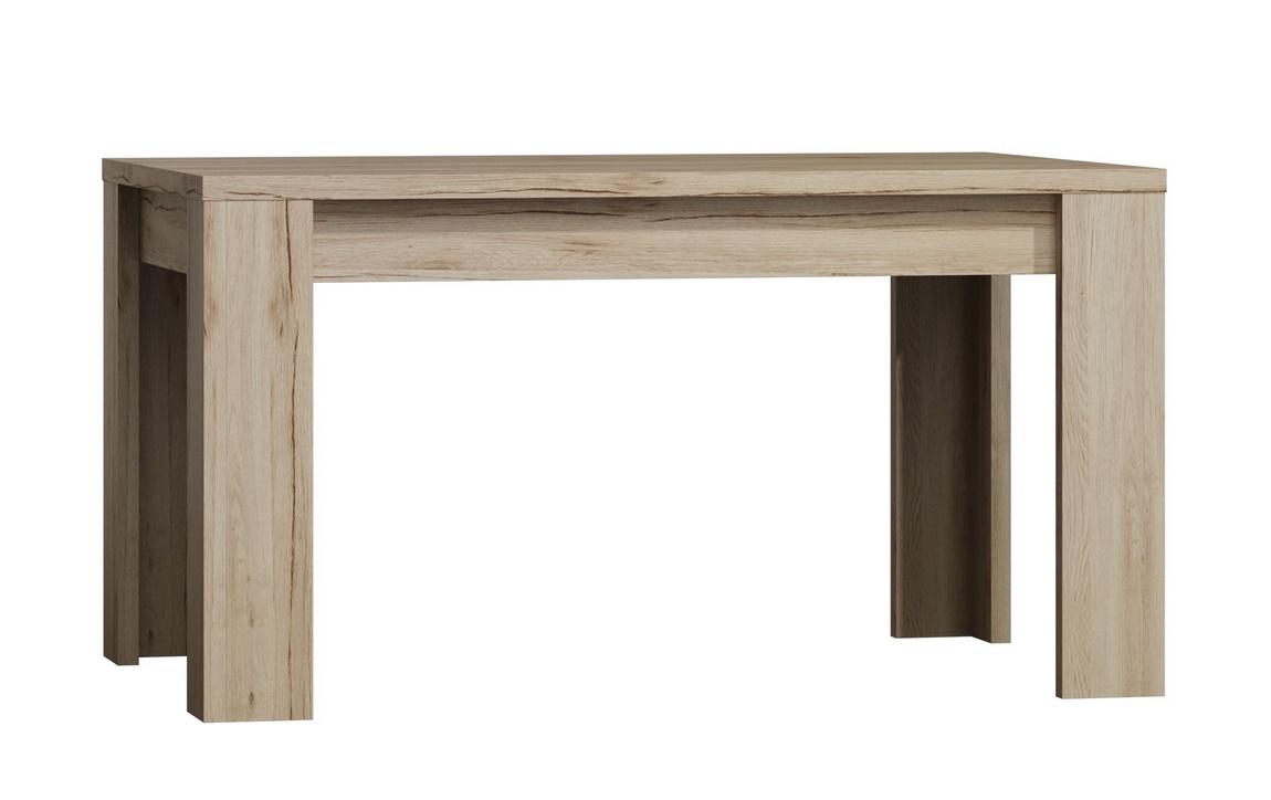 jedálenský stôl 160 rozkládací LAREDO dub sanremo