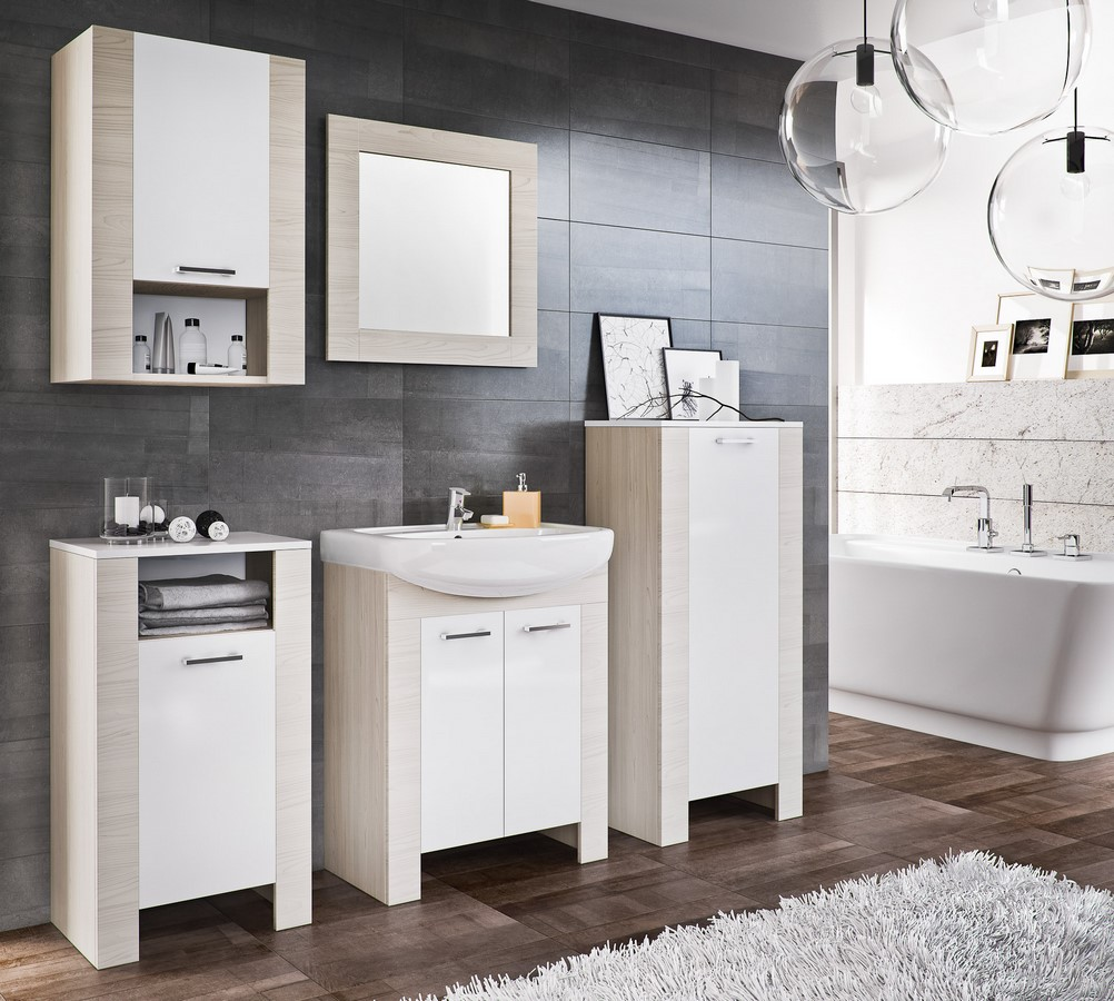 Kúpelňová zostava TALIA duglaska/biela