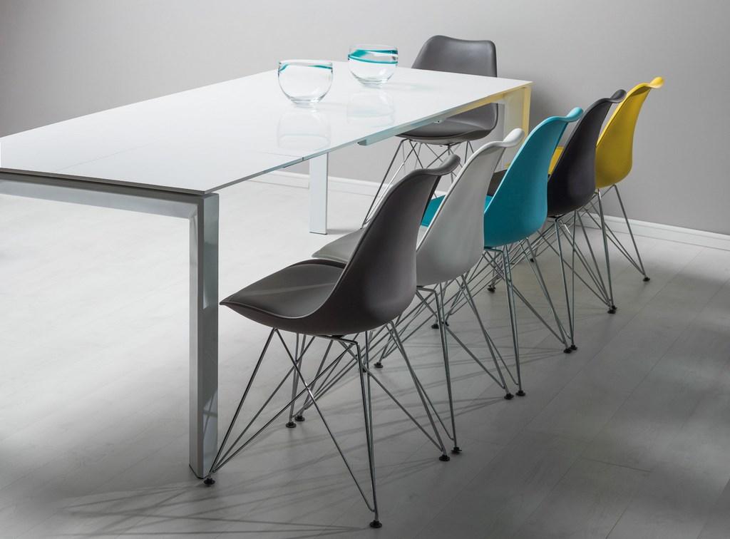 Jedálenská stolička TIM šedá