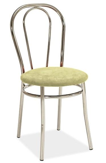 Jedálenská čalúnená stolička TINA krémová