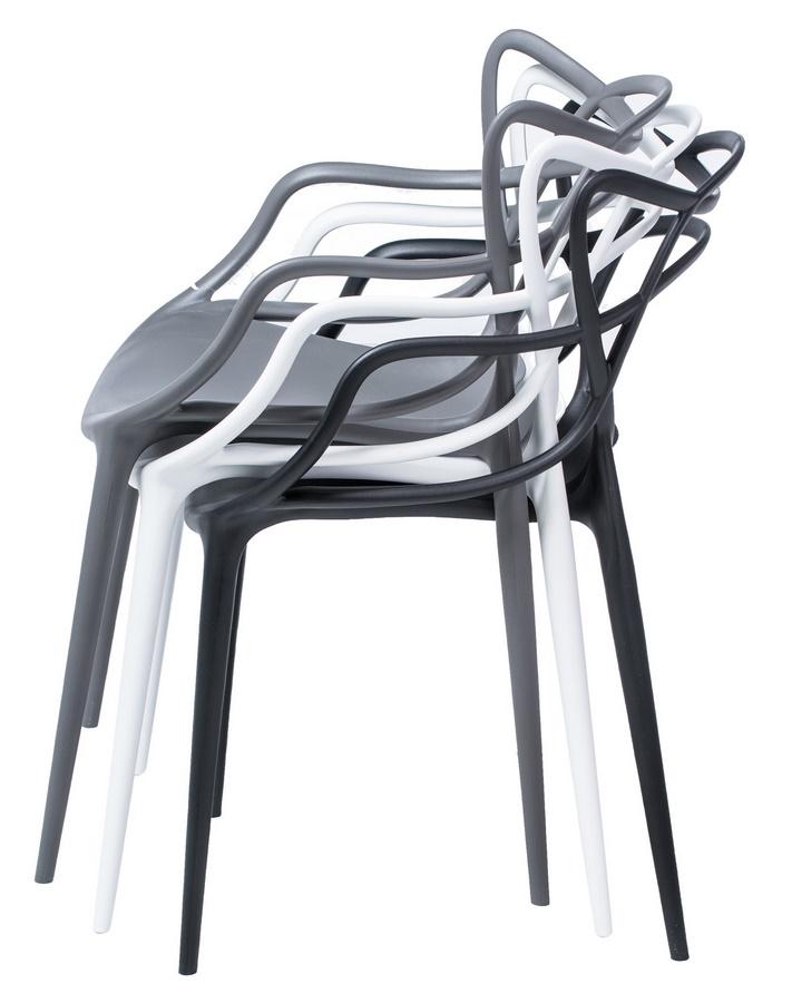 Jedálenská stolička TOBY čierna - NA SKLADE!