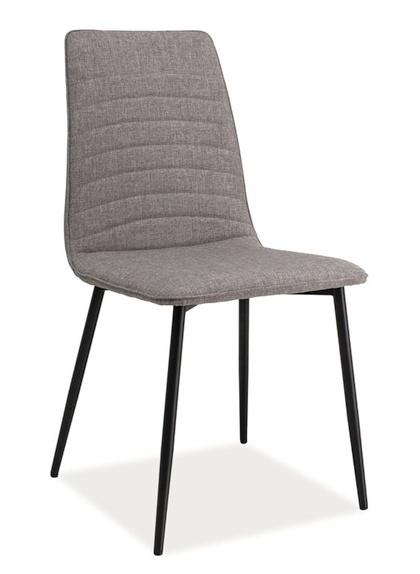 Jídelní čalouněná židle TOMAS šedá