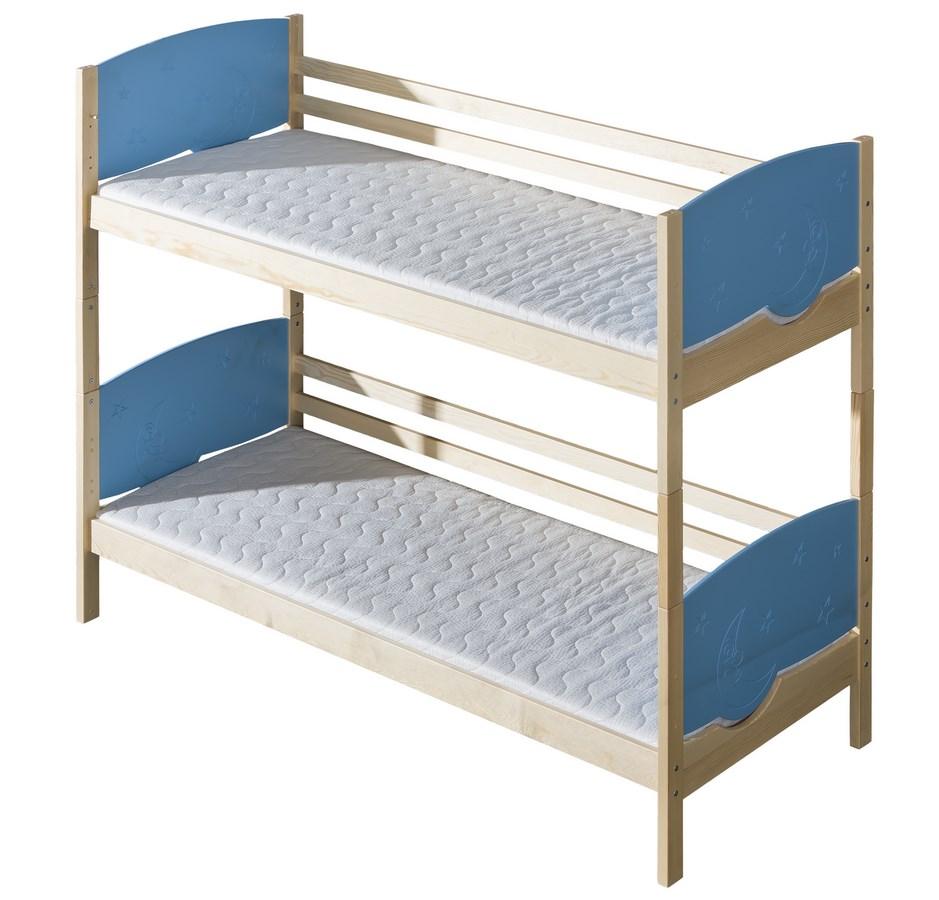 Detská postel TRIO poschoďová