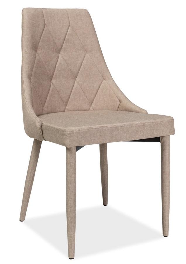 Jedálenská čalúnená stolička TRIX béžová