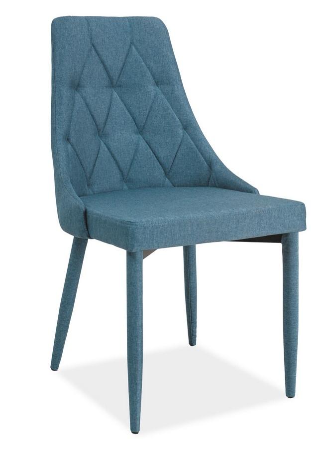 Jedálenská čalúnená stolička TRIX denim