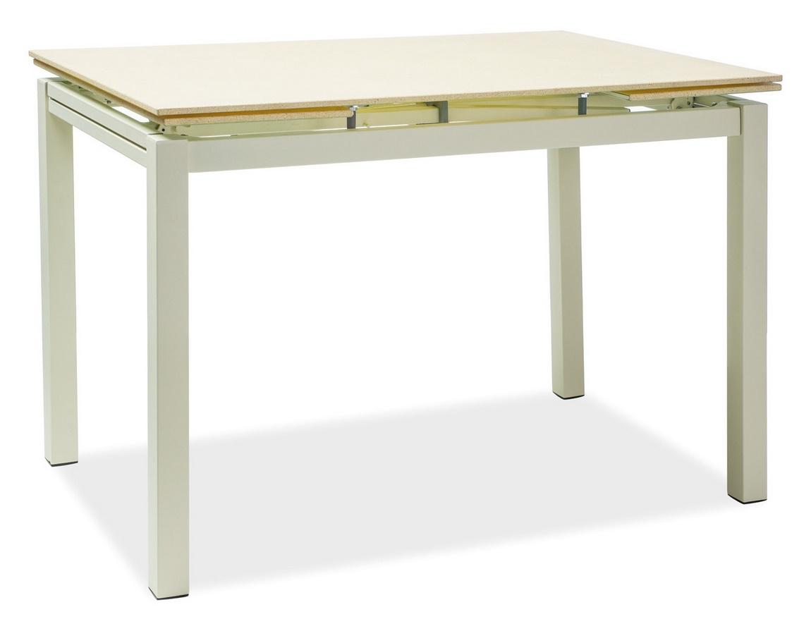 Jedálenský stôl TURIN rozkládací krémový