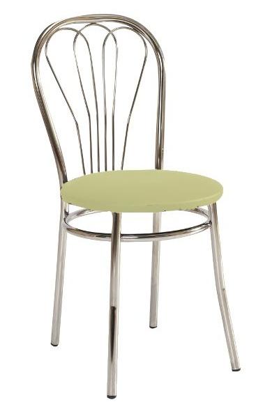Jedálenská čalúnená stolička V-1 krémová