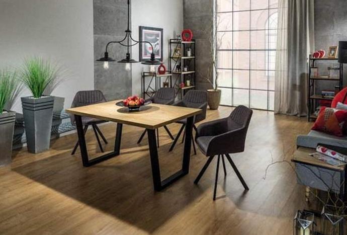 Jedálenský stôl VALENTINO 150x90 dub masiv