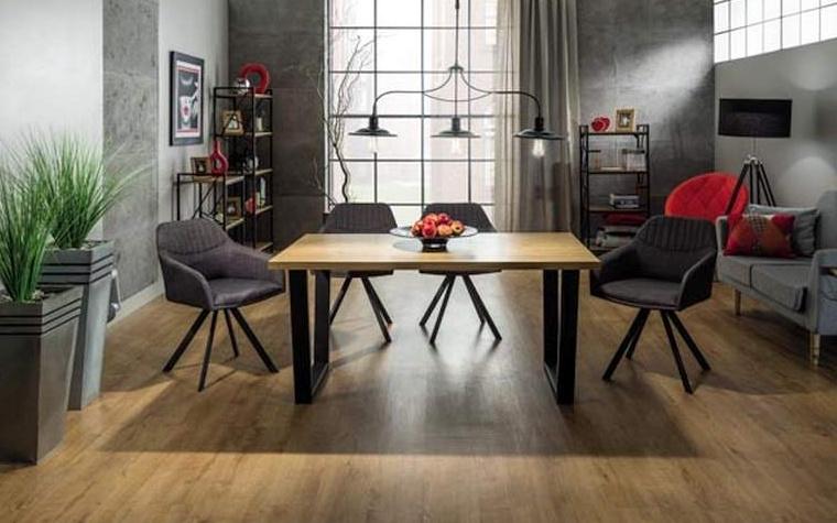 Jedálenský stôl VALENTINO 120x80 dub masiv