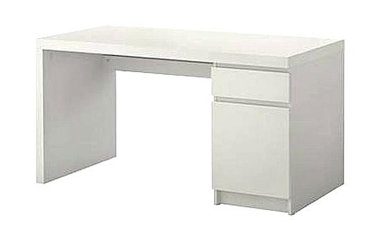 Písaci stôl VALKE bílý