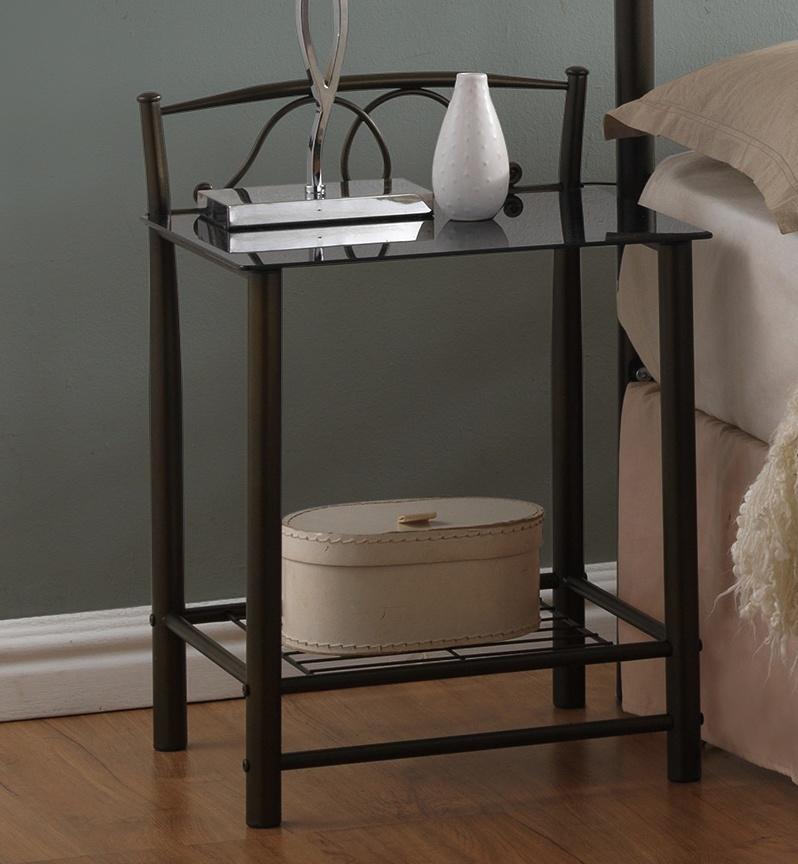 nočný stolík VD-930 černý