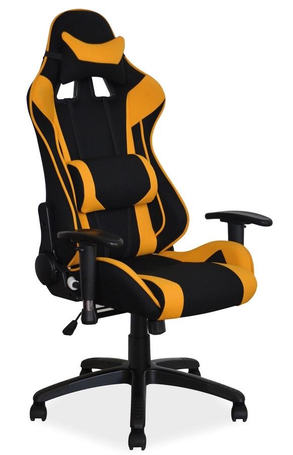 Kancelárske kreslo VIPER žlutá/čierna