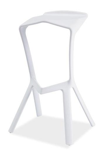 Barová stolička VOLT biela