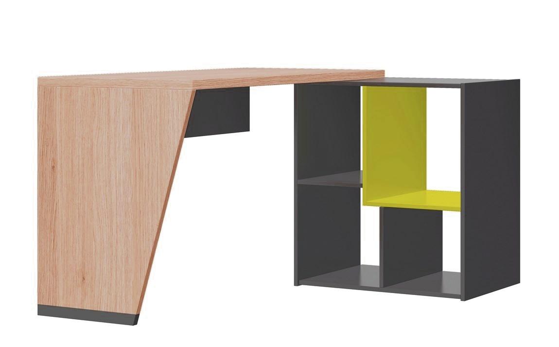 Písaci stôl WOW W-7 zelená
