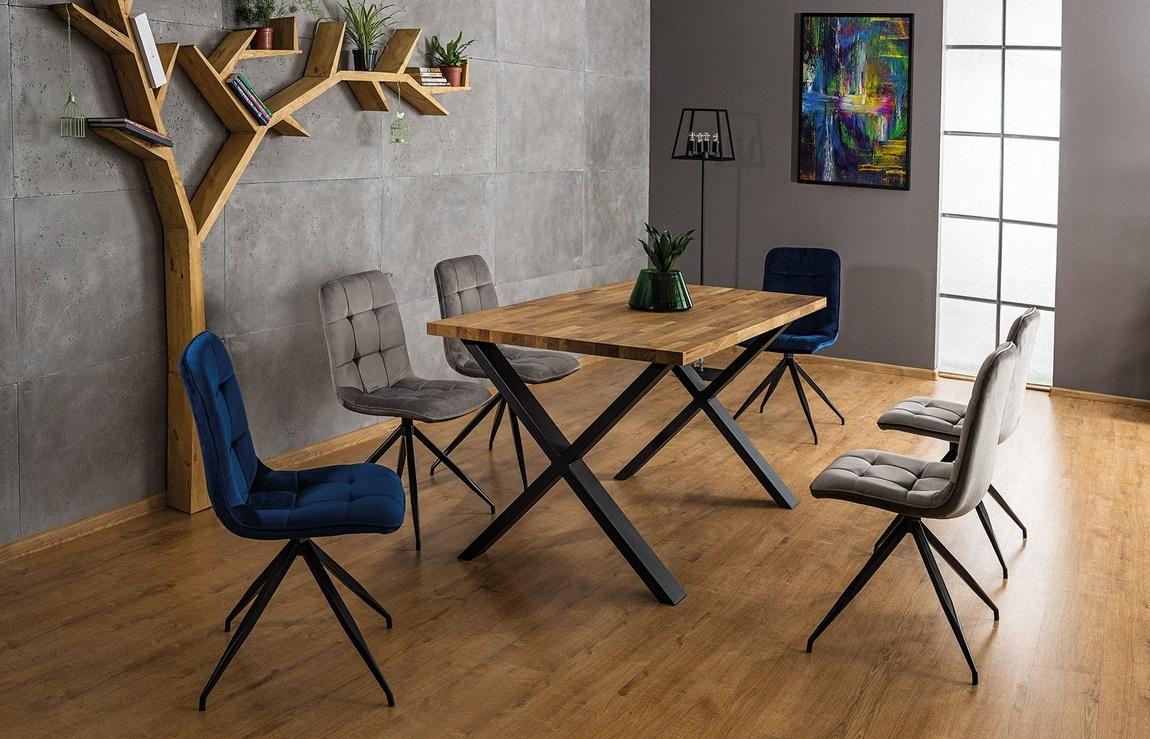 Jedálenský stôl XAVIERO II 180x90 dub masiv