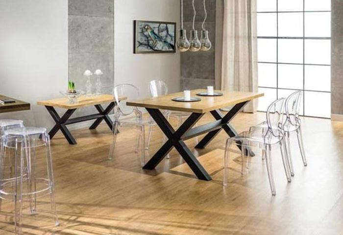 Jedálenský stôl XAVIERO 180x90 dub masiv