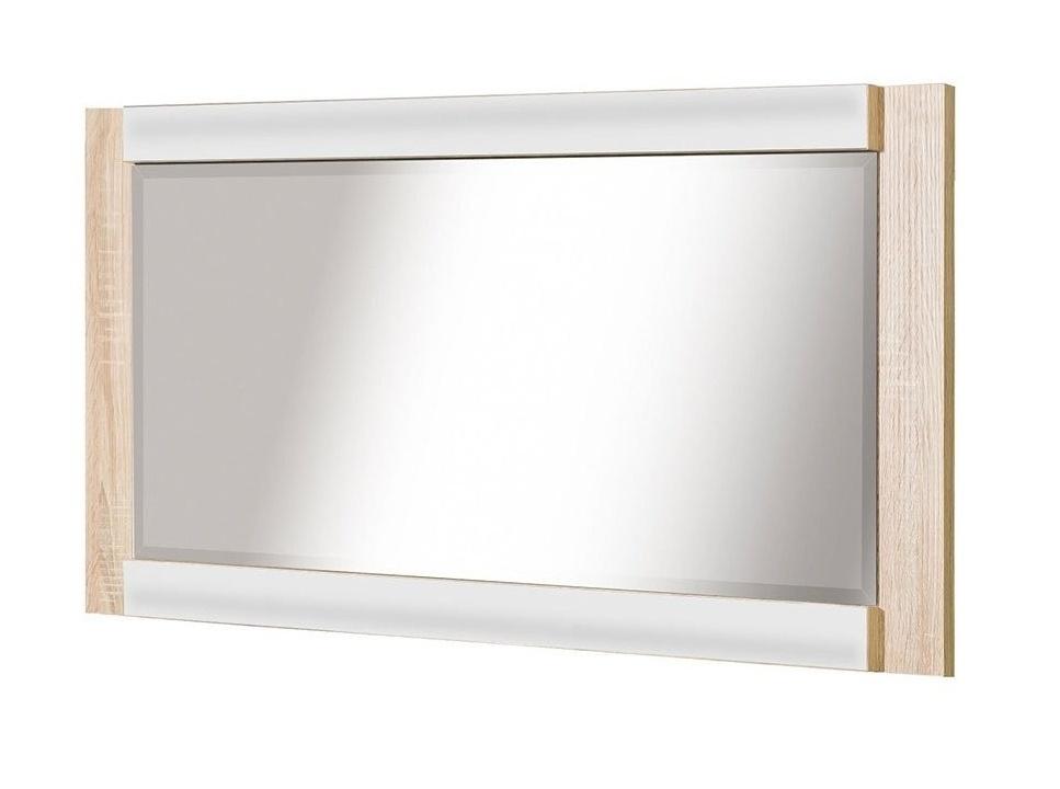 zrkadlo CARMELO C21 sonoma/biela lesk